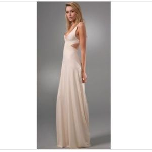 Rachel Pally Natural Cut Out Maxi Dress Small